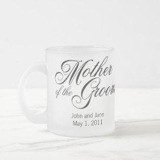 Madre de la taza del novio