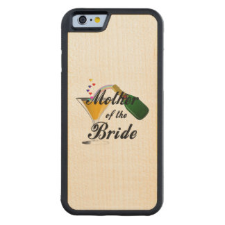 Madre de la tostada de Champán de la novia Funda De iPhone 6 Bumper Arce