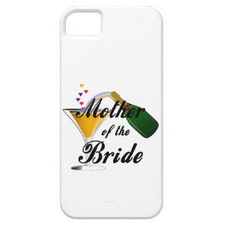 Madre de la tostada de Champán de la novia iPhone 5 Cárcasa