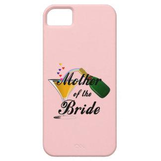 Madre de la tostada de Champán de la novia iPhone 5 Fundas