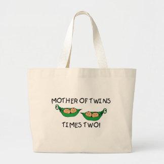 Madre de la vaina de los gemelos 2X Bolsas