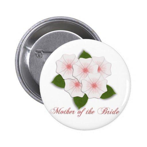 Madre de las flores de cerezo del KRW de la novia Pins