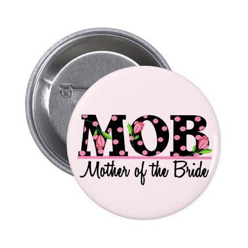 Madre de las letras del tulipán de la novia (MOD) Pins