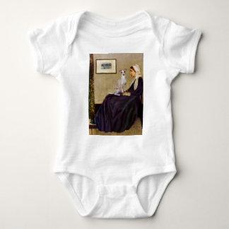 Madre de las marmotas - galgo italiano 5 body para bebé