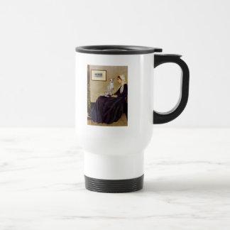 Madre de las marmotas - galgo italiano 5 taza térmica