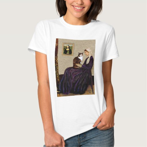 Madre de las marmotas - gato de calicó t-shirts