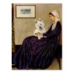 Madre de las marmotas - Westie 1 Postal