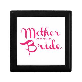 Madre de las rosas fuertes de la novia en blanco caja de regalo
