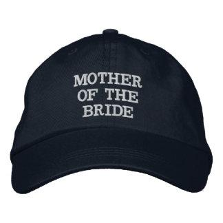 Madre de los azules marinos del gorra ajustable de gorras bordadas