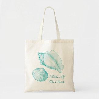 Madre de los Seashells de la bolsa de asas de la n