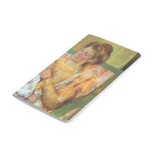 Madre de Maria Cassatt- que peina el pelo de su ni Cuadernos Grapados