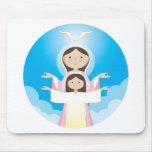Madre de Maria de dios Alfombrilla De Ratones