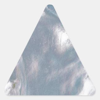 Madre de Perla-Azul Pegatinas De Trianguladas