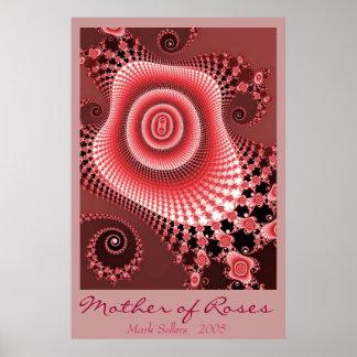 Madre de rosas póster