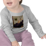 Madre de Whisterls - gato SH 46 del Tabby Camiseta