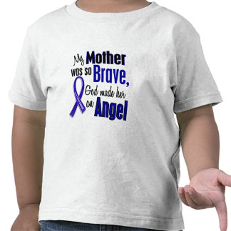 Madre del ÁNGEL 1 del cáncer de colon Camiseta