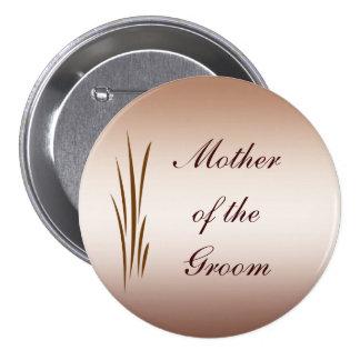 Madre del boda de la cosecha del otoño del Pin del Pin Redondo 7 Cm