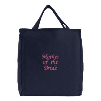 Madre del bolso de la novia bolsas bordadas