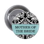 Madre del botón de la novia pin
