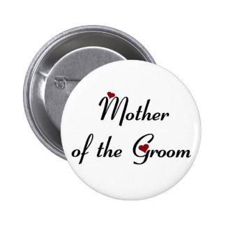 Madre del botón del novio pins