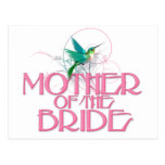 Madre del colibrí de la novia postal