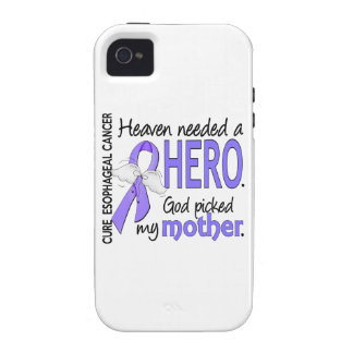 Madre del esófago del cáncer del héroe necesario iPhone 4 fundas