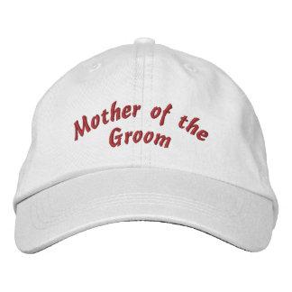 Madre del gorra bordado novio gorro bordado