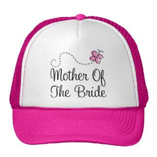 Madre del gorra de la novia