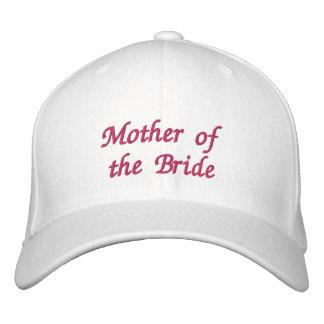 Madre del gorra de la novia gorras de beisbol bordadas