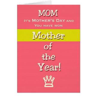 ¡Madre del humor de la mamá del día de madre del a