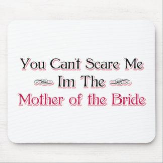 Madre del humor de la novia mousepad