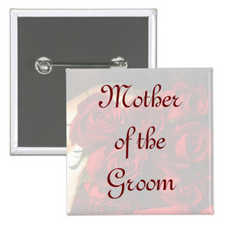 Madre del novio - ramo del rosa rojo (1) pins