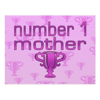 Madre del número 1 postal