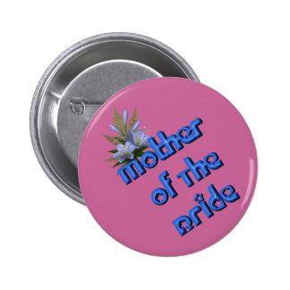 Madre del Pin del botón del boda del ramo de la fl