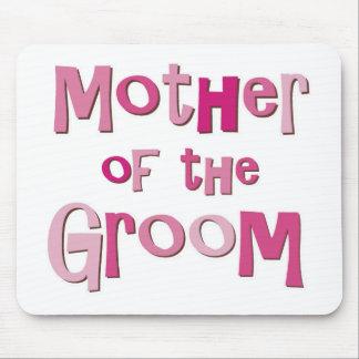 Madre del rosa Brown del novio Alfombrillas De Ratones