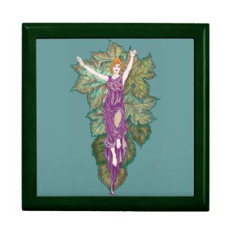 Madre-diosa del Demeter Joyero Cuadrado Grande