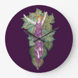 Madre-diosa del Demeter Relojes De Pared