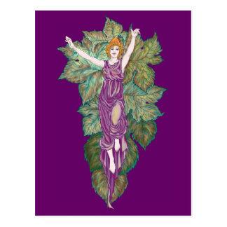 Madre-diosa del Demeter Tarjeta Postal