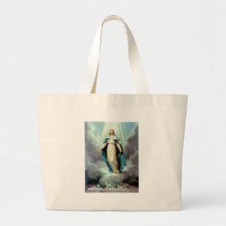 Madre divina bolsa tela grande