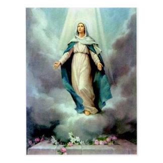 Madre divina postal