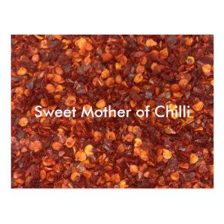 Madre dulce de chiles postal
