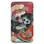 Madre e hija de Dia de Los Muertos Skeletons Case-Mate iPod Touch Funda