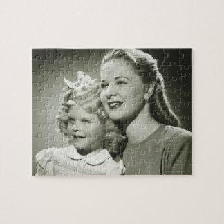 Madre e hija rompecabeza