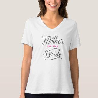Madre elegante de la camiseta de la novia
