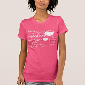 Madre en otros idiomas - camiseta modificada para