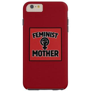 Madre feminista funda de iPhone 6 plus tough