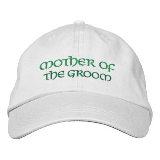Madre irlandesa de la diversión del gorra del boda gorro bordado