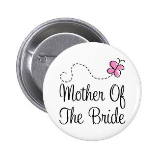Madre linda del botón de la novia