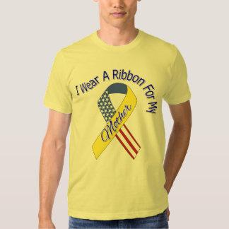 Madre - llevo un patriótico militar de la cinta camisas