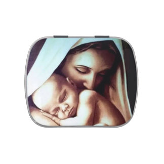 Madre Maria de la Virgen con el bebé Jesús Latas De Dulces